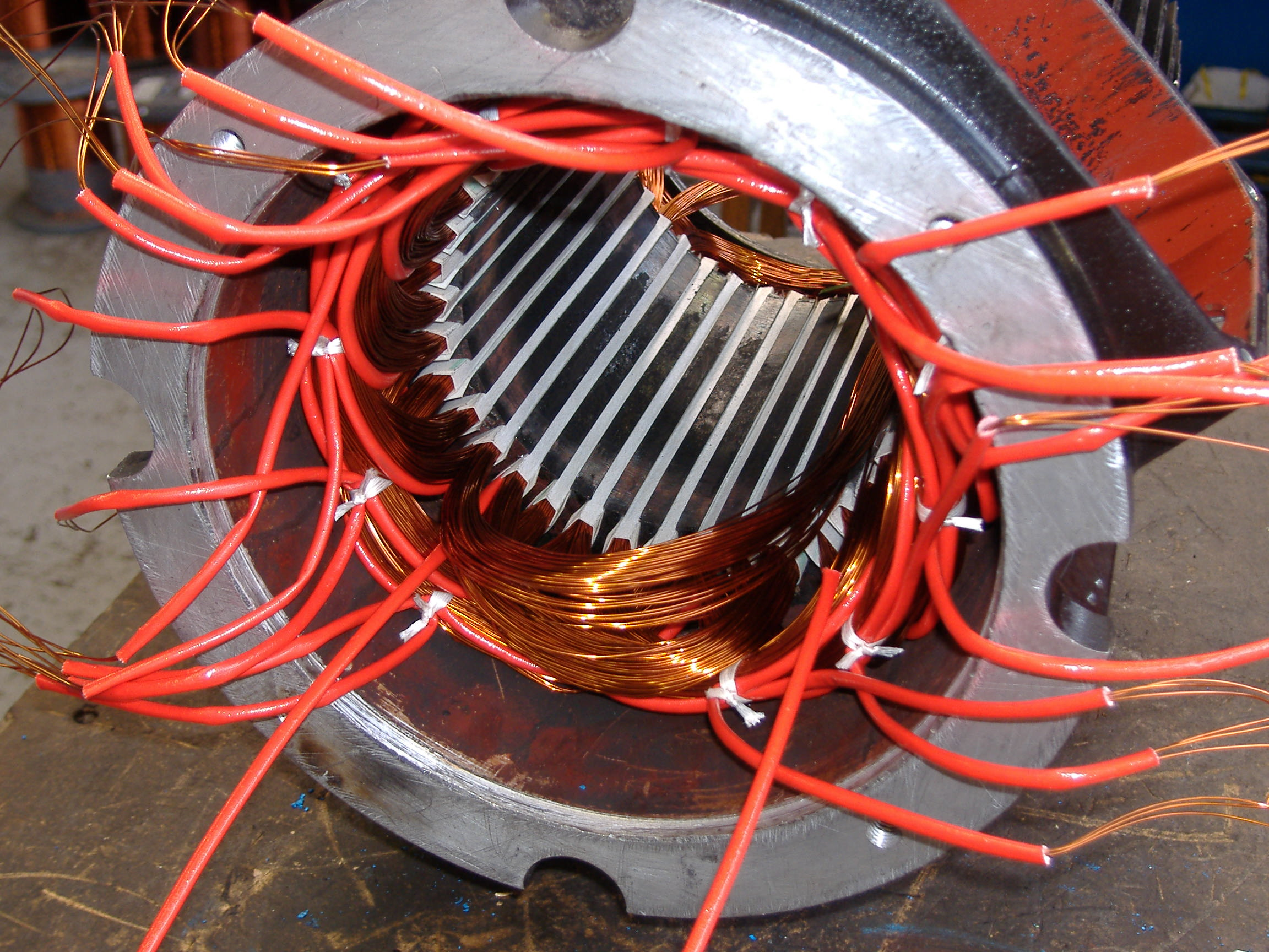 Ol gustavo armature winders for Electric motor repair company